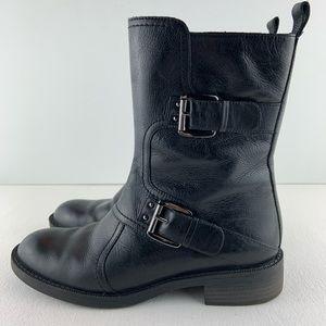 ENZO ANGIOLINI Easinley Black Boots Size 6M